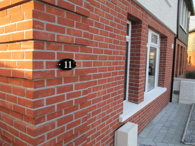 Slip Brick System External Wall Insulation Absolute