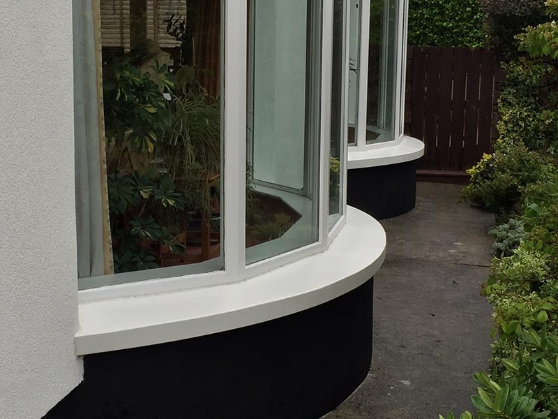 Sills absolute acrylics ltd for Curved bay window