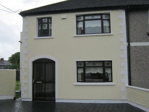 End Of terrace with Quion Stones in Kimmage